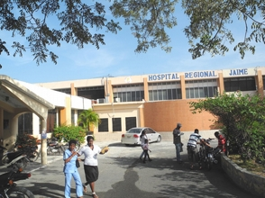 Hospital de Barahona repleto de pacientes