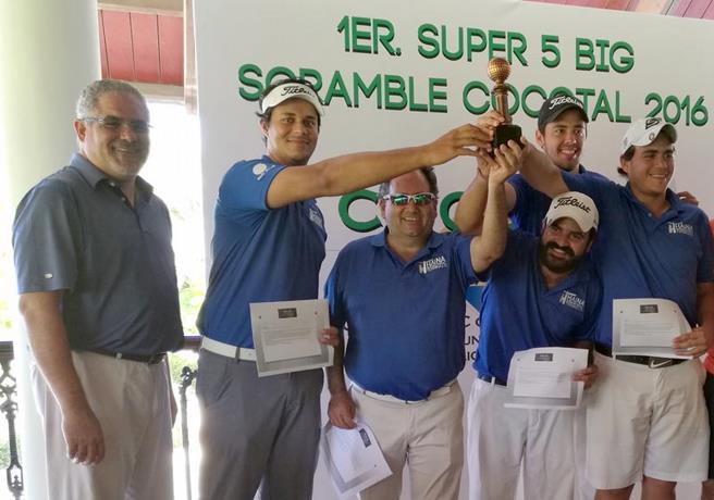 "Haina International conquista ""Super 5 Big Scramble Cocotal"""
