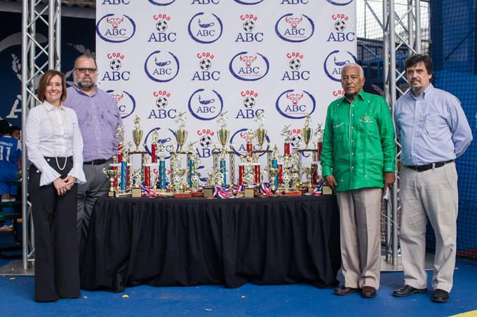 Inauguran la Copa Intercolegial ABC