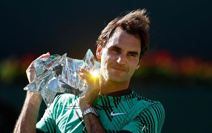 Federer triunfa en Indian Wells