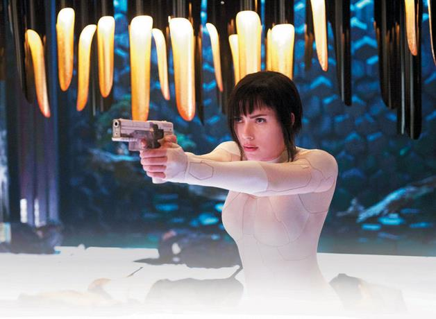 """Manga real """"ghost in the shell"""""""