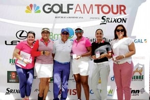 Acción en Punta Cana: golf channel am tour RD y ajga dj open