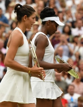 ¿Es Muguruza la heredera de las hermanas Williams?