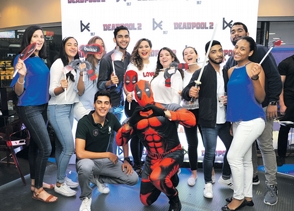 be99.7 realiza premier de Deadpool 2