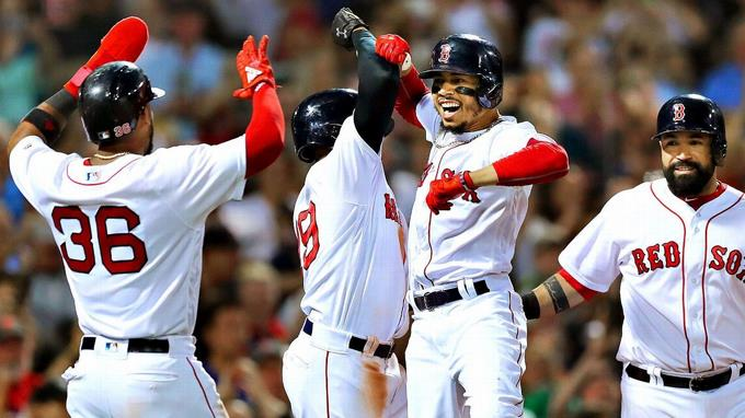 Medias Rojas de Boston son el primer equipo en playoffs