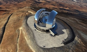 Video: telescopio con dimensiones de catedral toma forma en Chile