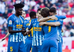 Atleti empataa en Sevilla y sigue 2do; Real Madrid cae