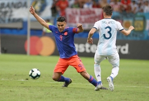 Colombia asesta golpe a Argentina