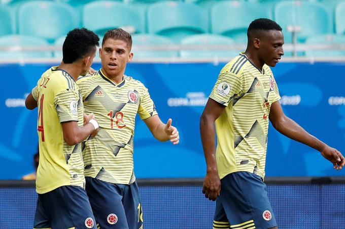 Colombia derrota 1-0 a Paraguay