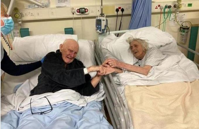 A special and heartfelt farewell to a couple who have been in love for over 70 years since Kovit died