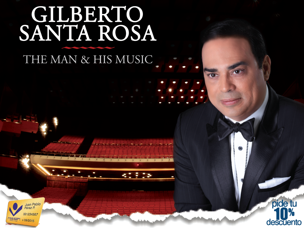 GILBERTO SANTA ROSA THE MAN AND HIS MUSIC