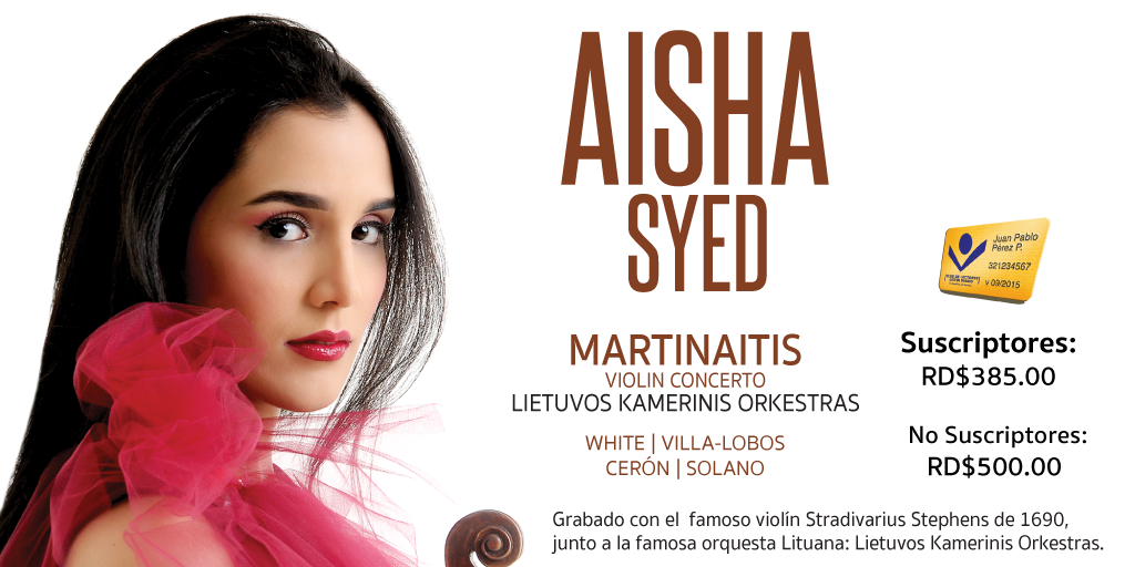 CD AISHA SYED ''MARTINAITIS''
