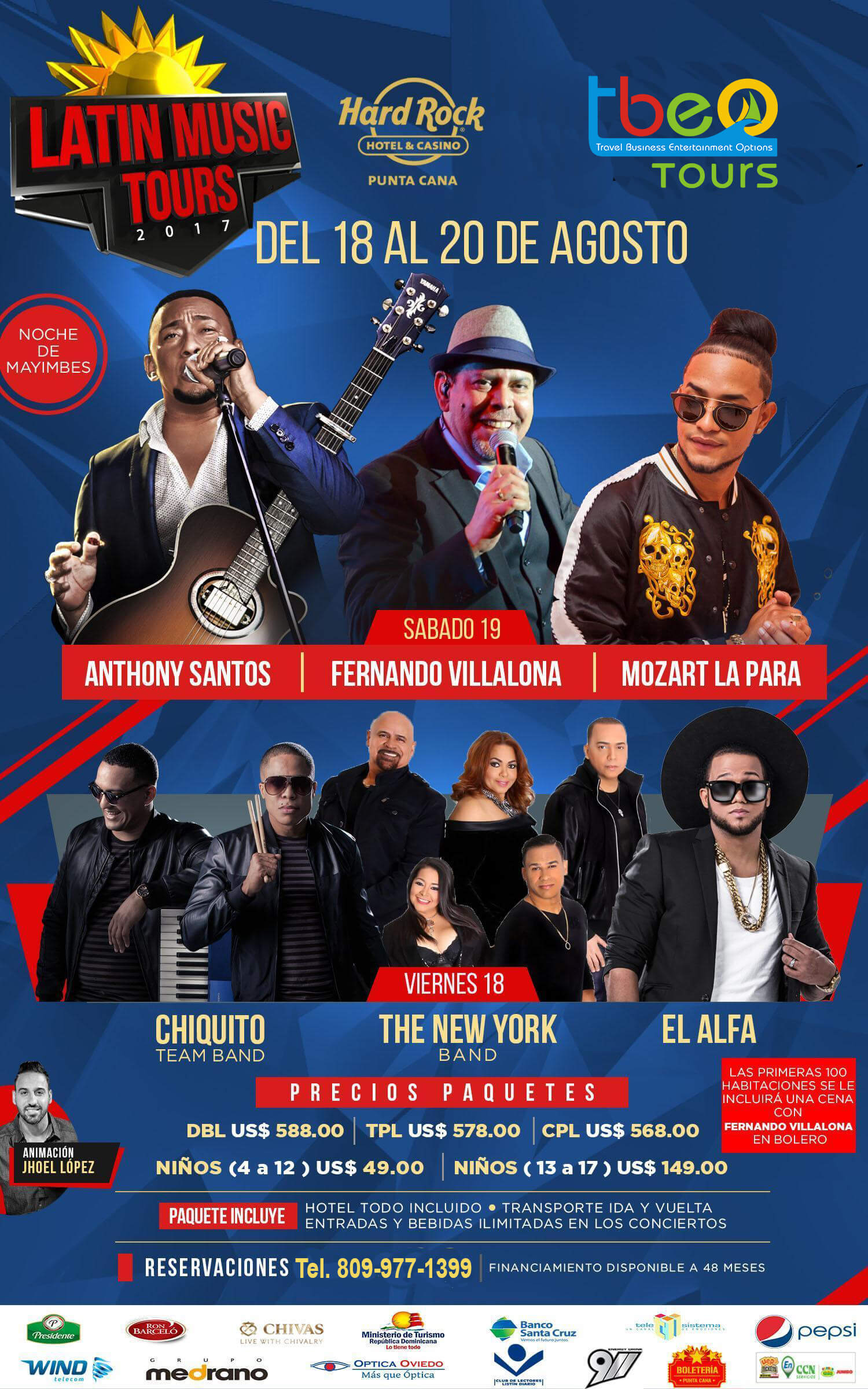 LATIN MUSIC TOUR
