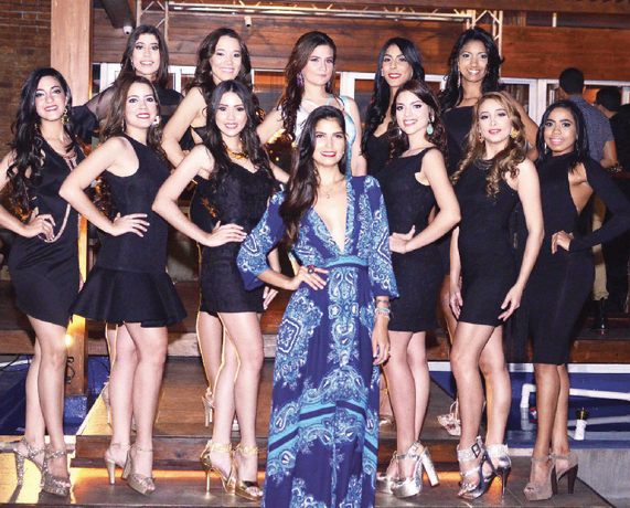 Candidatas a Miss Santiago