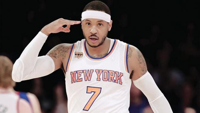 Rose, Porzingis y Anthony conducen a Knicks a ganar