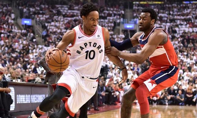 DeRozan anota 32 y Raptors vencen a Wizards