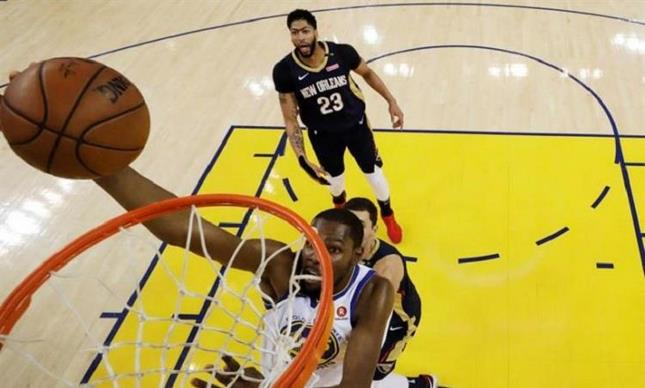 Durant, Green y Thompson guían a los Warriors