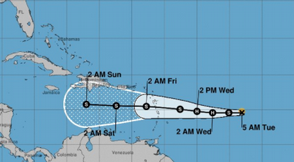 Isaac se degrada a tormenta tropical