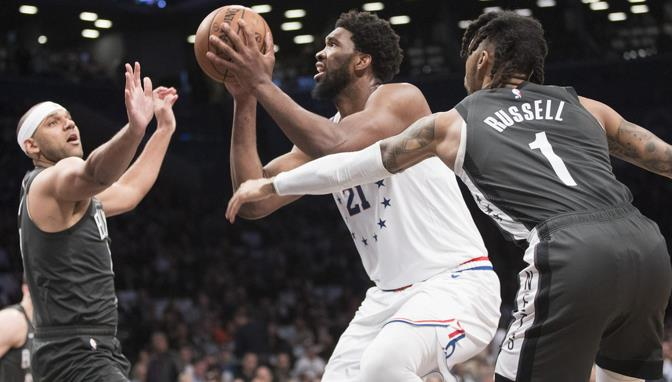 Joel Embiid anota 31, toma 16 rebotes y Sixers ponen serie 3-1