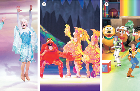 "Los ""Mundos fantásticos"" de Disney On Ice"
