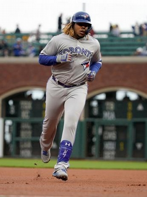 Guerrero Jr. pega su primer Grand Slam