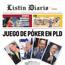 La semana contada con las portadas del Listín Diario
