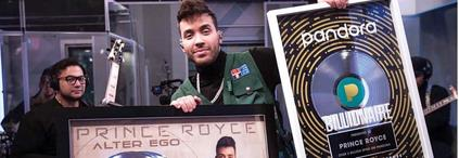 "Con ""Alter ego"" Royce logra doble Disco Platino"