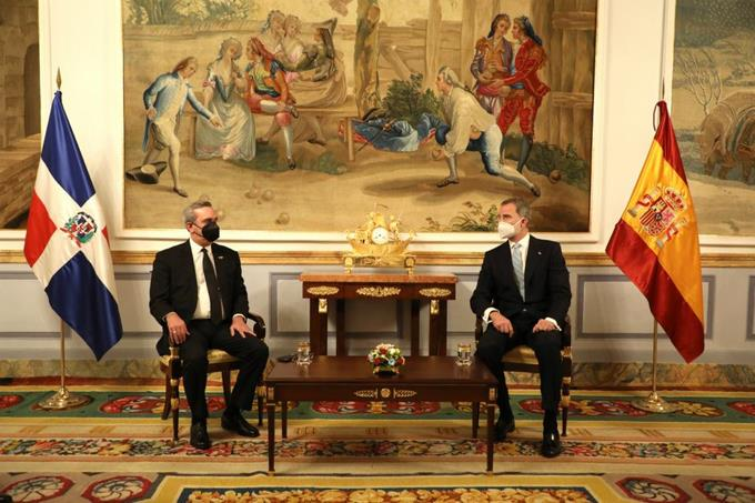 Abinader and the King of Spain talk about vaccination, economic crisis and bilateral relations