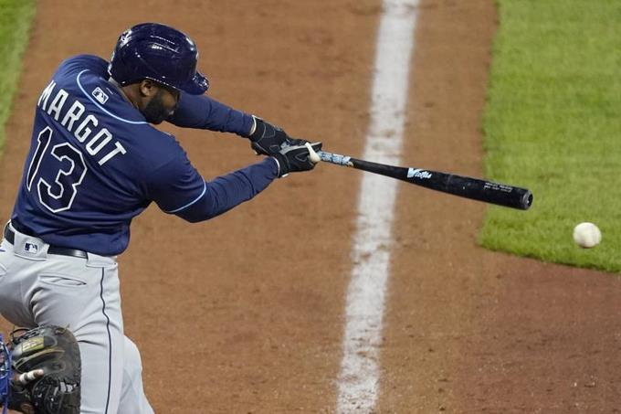 Lowe y Meadows disparan Hrs., Margot empuja 3 carreras en triunfo Rays