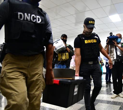 Dominicanos, peruanos y colombianos involucrados en la Operación Larva